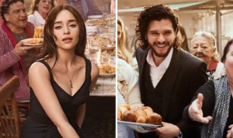 Pub Dolce & Gabbana The One avec Emilia Clarke Kit Harington les acteurs de Game Of Thrones
