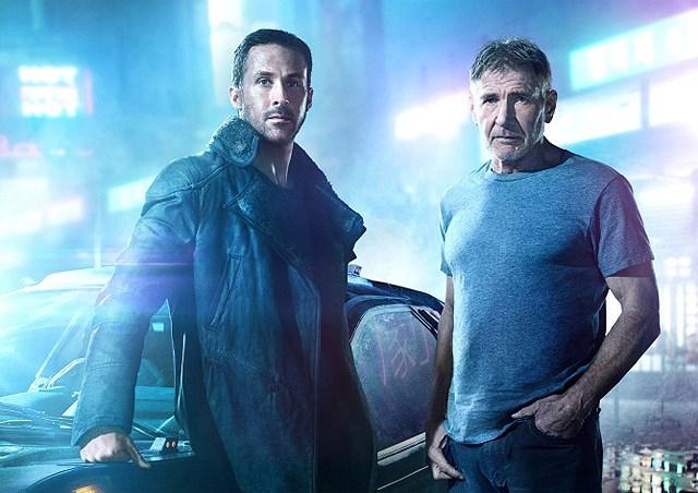 Ryan Gosling et Harrison Ford stars du film Blade Runner 2049