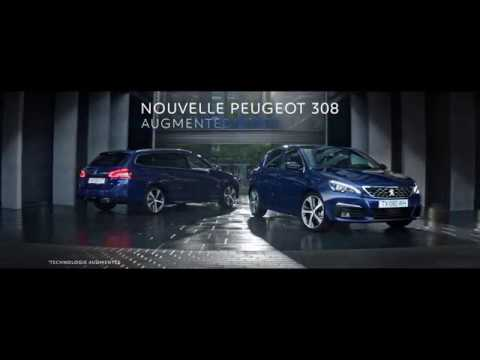 into the light musique pub 2017 peugeot 308 augmented technology. Black Bedroom Furniture Sets. Home Design Ideas