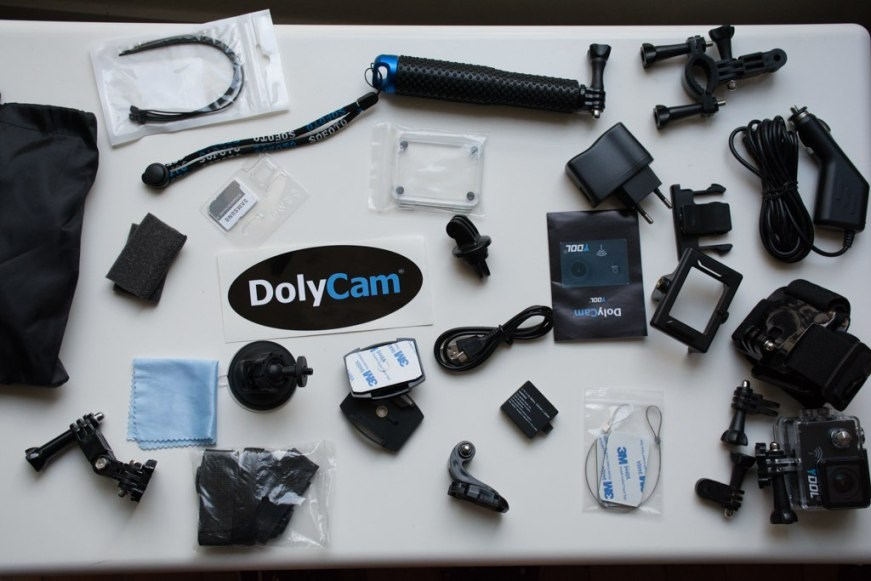 dolycam ydol 4k pack accessoires