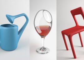 The Uncomfortable : elle transforme des objets pour les rendre inutilisables