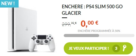 twinies enchere ps4 slim 500go