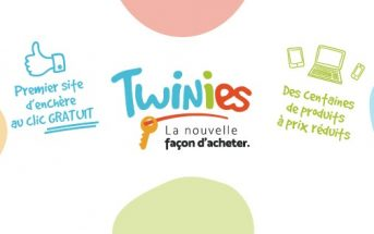 Twinies, le premier site d'enchères au clic gratuit