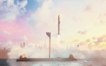 Faites le tour de la Terre en moins d'une heure avec la fusée SpaceX !