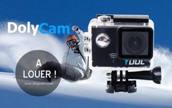 DolyCam, la 1ère marque à proposer ses caméras de sport en location