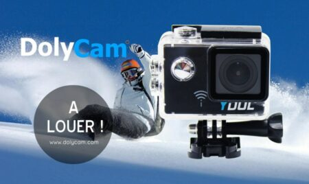 location de la caméra sportive dolycam ydol 4k