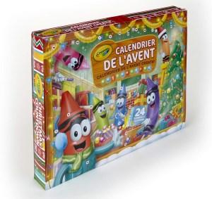 calendrier de l'avent pour enfant créatif de crayola