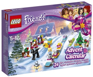 Calendrier de l'Avent LEGO Friends