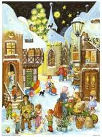calendrier de l'avent marché de Noël