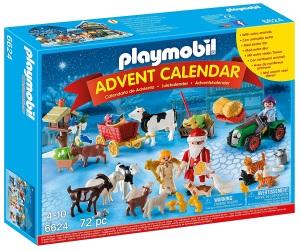 """calendrier de l'avent Playmobil """"Père Noël à la ferme"""""""