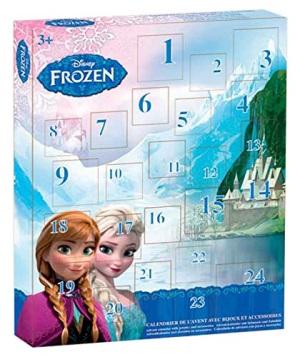 Calendrier de l'avent Disney Reine Des Neiges