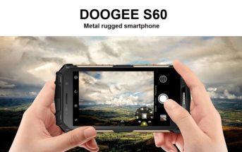 Doogee S60 : le smartphone étanche et incassable en promo
