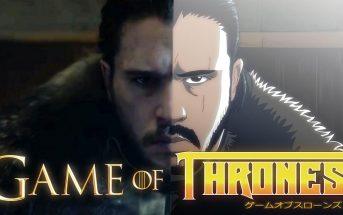 Le générique de Game of Thrones revisité façon manga japonais !