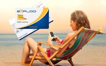 Explod : Carte SIM internationale pour voyager l'esprit tranquille dans 194 pays !