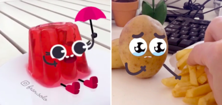 fran solo aliments personnages mignons