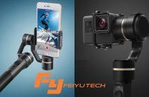 gimbal, les stabilisateurs de caméra FeiyuTech SPG & Feiyu G5