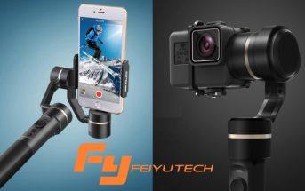Gimbal Feiyu : des promos à saisir sur les meilleurs stabilisateurs de caméra !