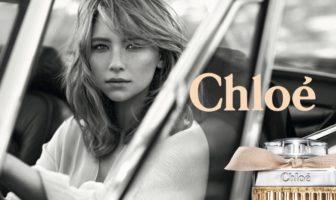 L'actrice Haley Bennett dans la pub 2017 du parfum Chloé