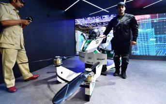 Hoverbike : la police de Dubaï s'équipe de motos volantes !