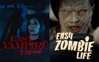 Vampires et zombies débarquent chez Renault pour Halloween