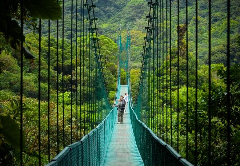 réserve naturelle de Monteverde au Costa-Rica