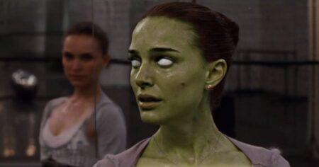 """Natalie Portman transformée en zombie dans """"HZ HOLLYWOOD ZOMBIES"""" de Fabrice Mathieu"""
