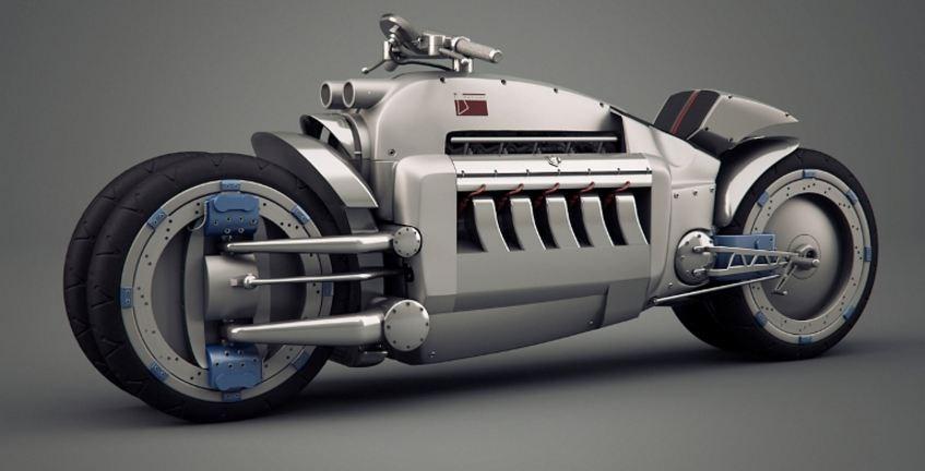 Moto Dodge Tomahawk V10 Superbike
