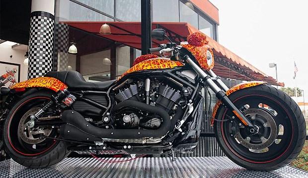 Moto Harley Davidson Cosmic Starship