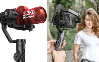 Promo de dingue sur le Zhiyun Crane 2 : le meilleur stabilisateur pour caméra