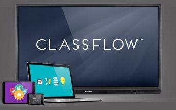 Classflow Desktop : logiciel dédié à l'enseignement pour les écrans interactifs Promethean
