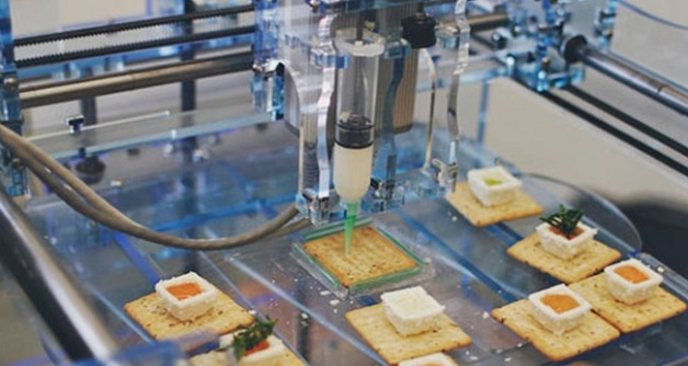 faire la cuisine avec une imprimante 3d