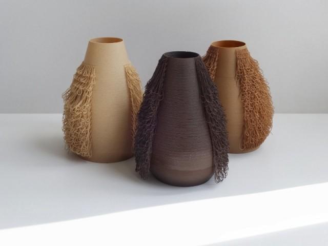 impression 3d vase poilu
