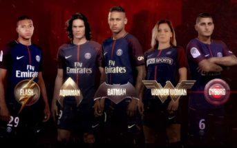 Les joueurs du PSG se transforment en super-héros de 'Justice League'