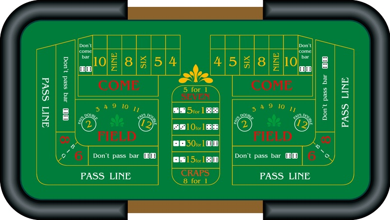 table de craps casino