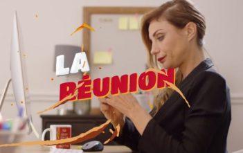 "Ariane Brodier dans la pub Kellogg's Extra ""La réunion"""
