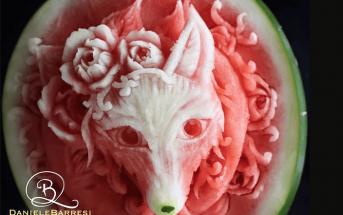 Des œuvres d'art exceptionnelles à base de fruits et légumes
