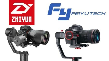 FeiyuTech a2000 et Zhiyun Crane