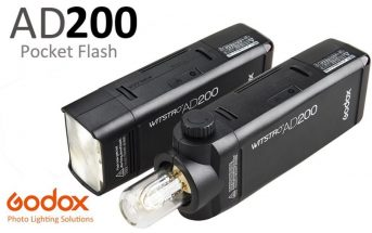 Le mini flash portable Godox Wistro AD200 en promo à 248€ !