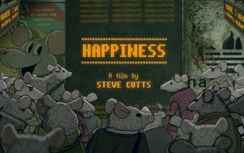 Happiness : un rat peine à trouver le bonheur dans une ville surpeuplée