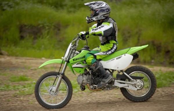 La Dirt Bike de légende KAWASAKI KLX 110