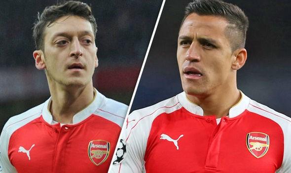 Mesut Ozïl et Alexis Sanchez sur le départ à Arsenal ?