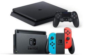 Des offres à saisir sur la PS4 et la Nintendo Switch