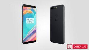 Le OnePlus 5T en promotion