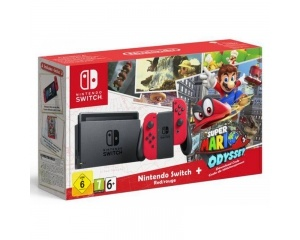 Pack Nintendo Switch + Super Mario Odyssey