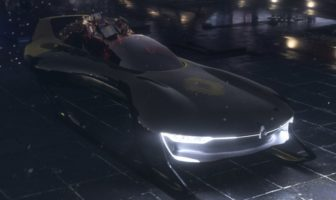 Santa Sleigh RS : le traîneau du Père Noël futuriste par Renault Sport