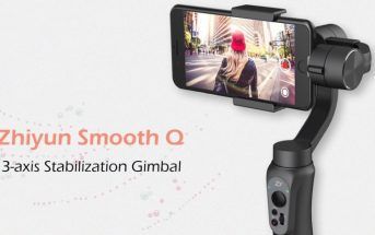 Promo cadeau de Noël : le stabilisateur smartphone Zhiyun Smooth Q à 76€ !