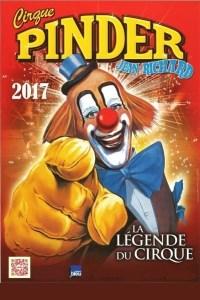affiche cirque pinder 2017