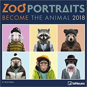 calendrier zoo portraits 2018