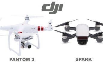 Super promo 2018 sur les drones DJI Phantom 3 et DJI Spark !