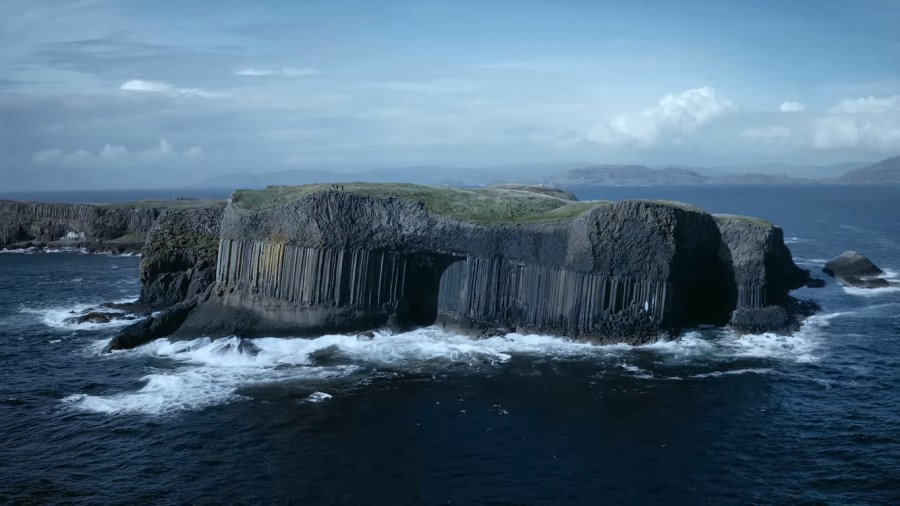 Grotte de Fingal en Ecosse